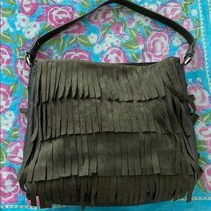 Free People Bags - NWOT Free People fringe hobo bag